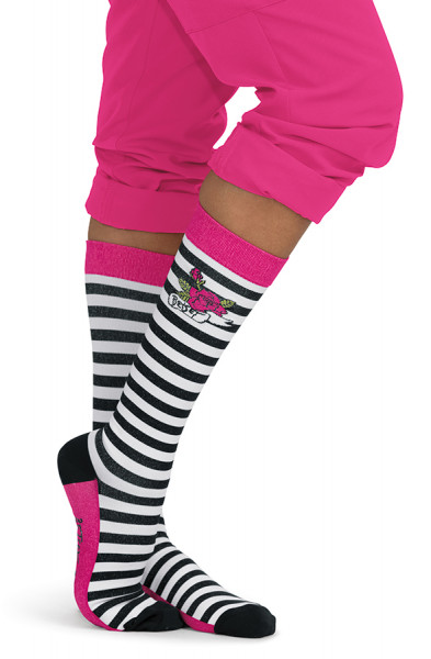Koi Betsey Johnson Socks-Betsey Stripe-LIMITED EDITION