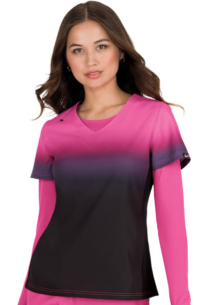 Koi Lite Reform Top Black/Flamingo