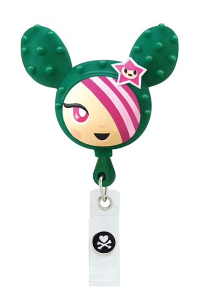 Koi Retractable Badge - tokidoki Sandy