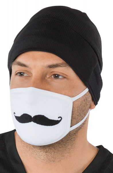 Koi Non-Surgical Face Mask - Moustache