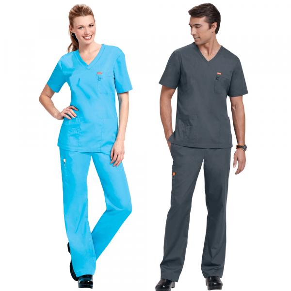 Orange-Standard-Unisex-Full-Length-Women-Electric-Blue-Man-Charcoal-Grey-Models