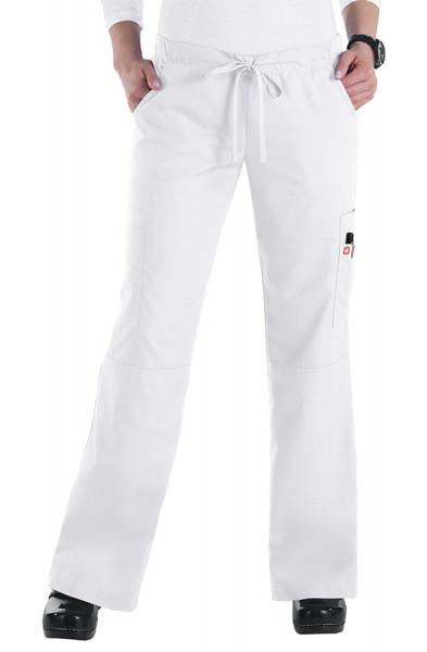 Orange Standard Laguna Trousers - White