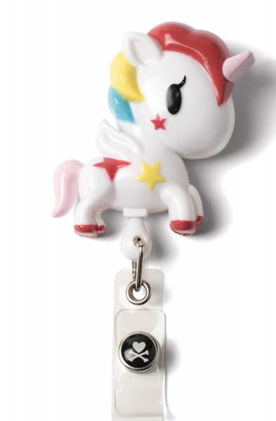 Koi Retractable Badge - tokidoki Unicorno
