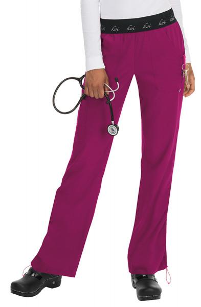 Koi Lite Spirit Trousers Raspberry