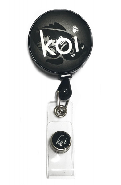 Koi Badge Reel Black
