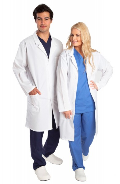 Budget Unisex White Lab Coat