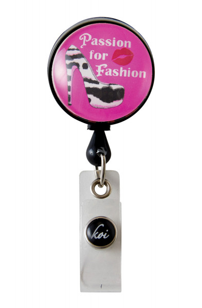 Koi Woven Badge Reel - Fashion Passion