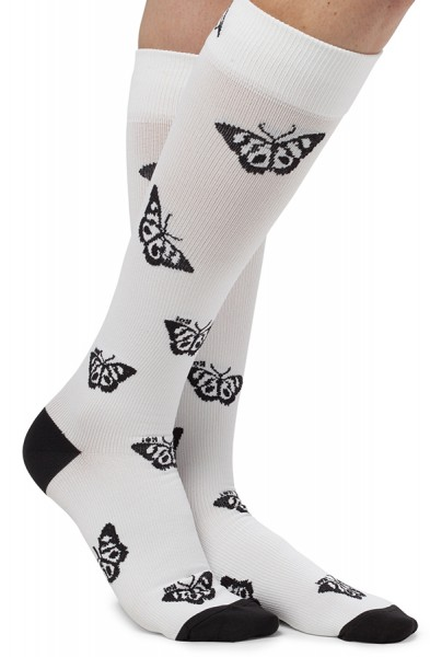 Koi Butterfly Compression Socks
