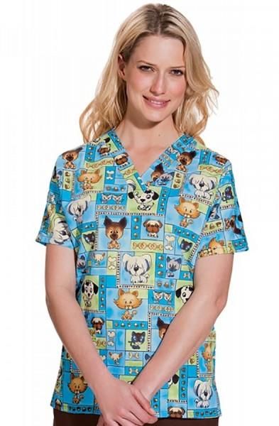 c02e2e0c81e Women's Print Scrub Tops | Nurses Uniforms | Scrubs Ireland | Lab ...