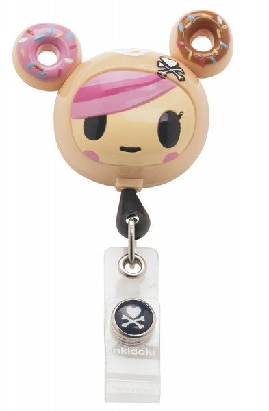 Koi Retractable Badge - tokidoki Donutella
