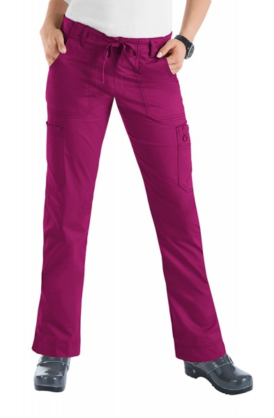 Koi Stretch Lindsey Trousers - Raspberry