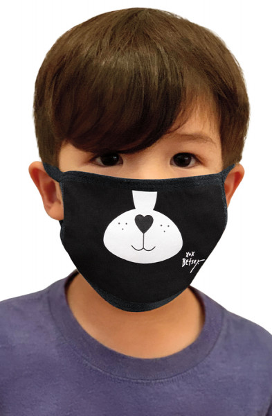 Koi Mini Face Mask - Dog